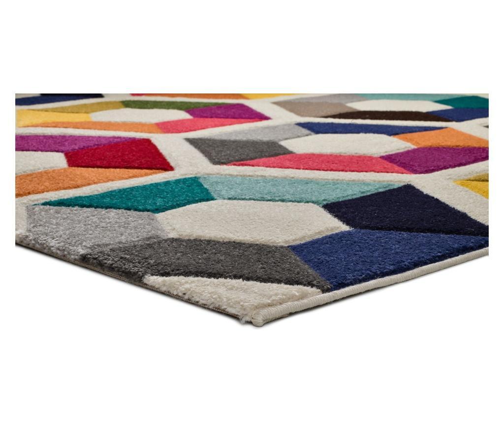 Boutique Multicolor Hexa Szőnyeg 80x150 cm