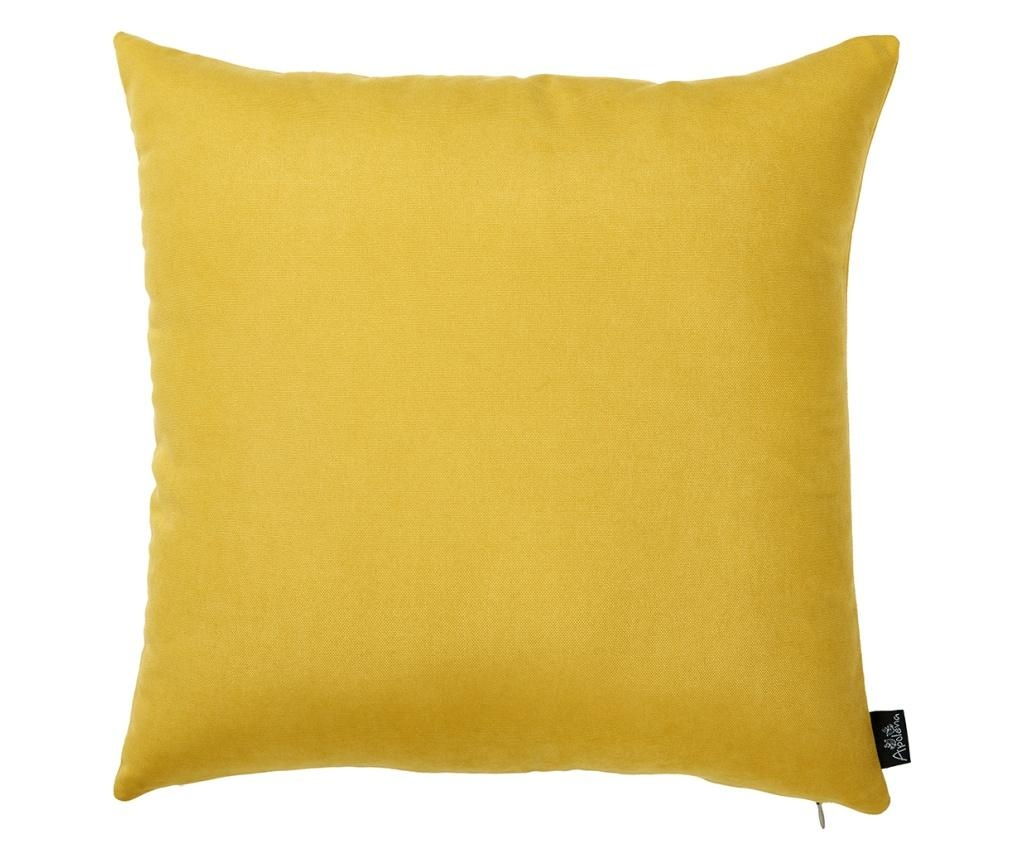 Fata de perna Julia Yellow 43x43 cm