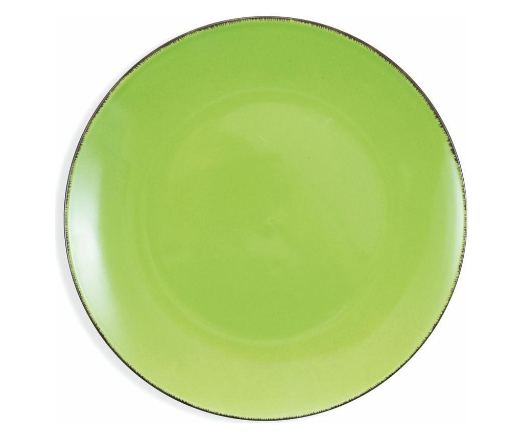 Set 6 farfurii intinse Baita Green