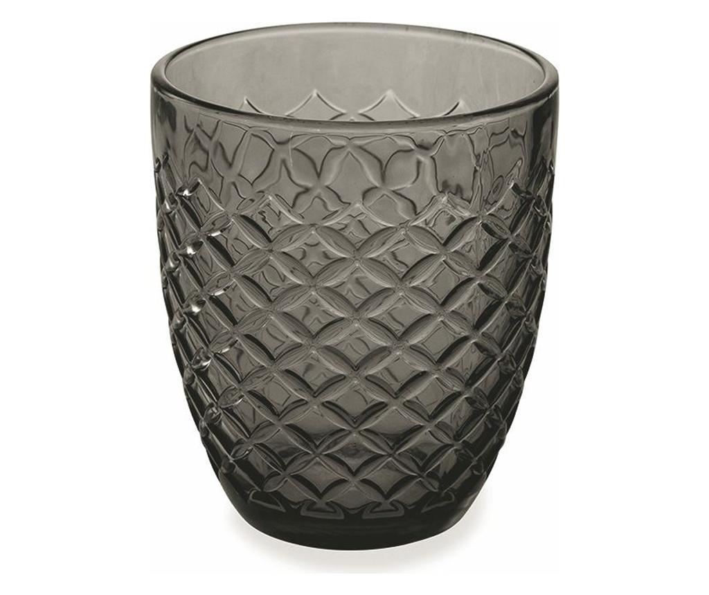 Сервиз 6 водни чаши Spiga Black 332 ml