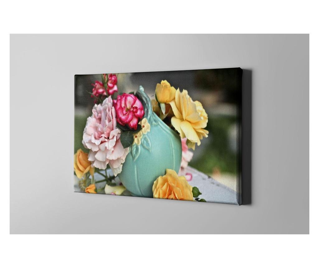 Tablou Colorful Flowers 60x90 cm