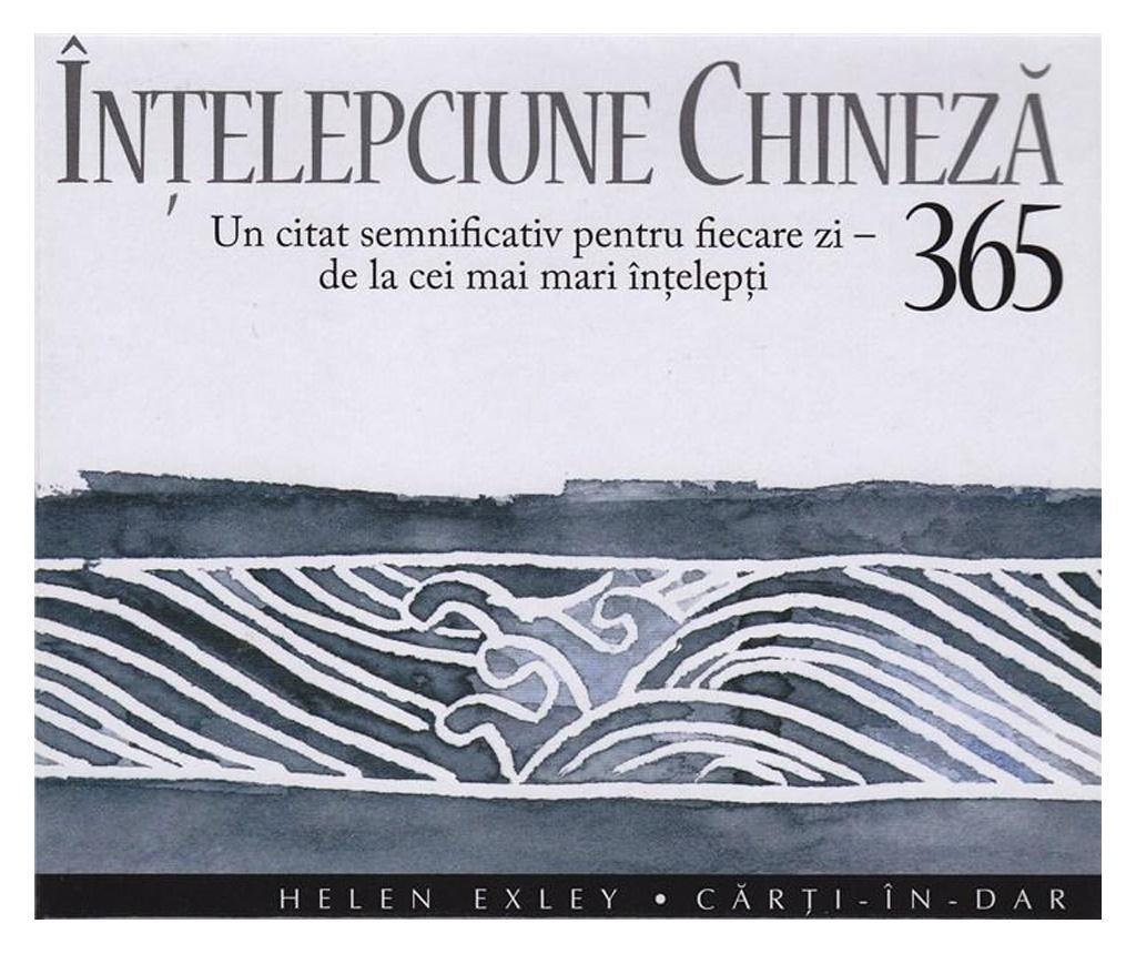 Carte 365 de zile - Intelepciune chineza