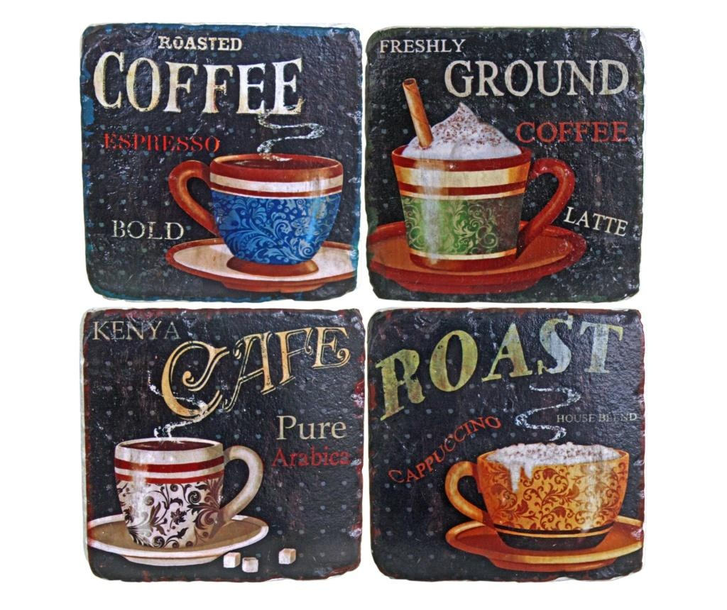 Coffee Flavour 4 db Poháralátét