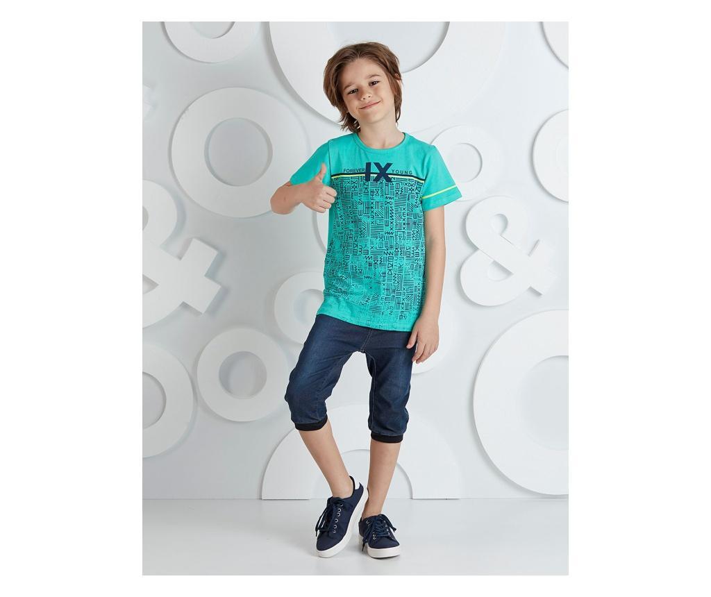 Set tricou si pantaloni pentru copii Forever Young 3 years