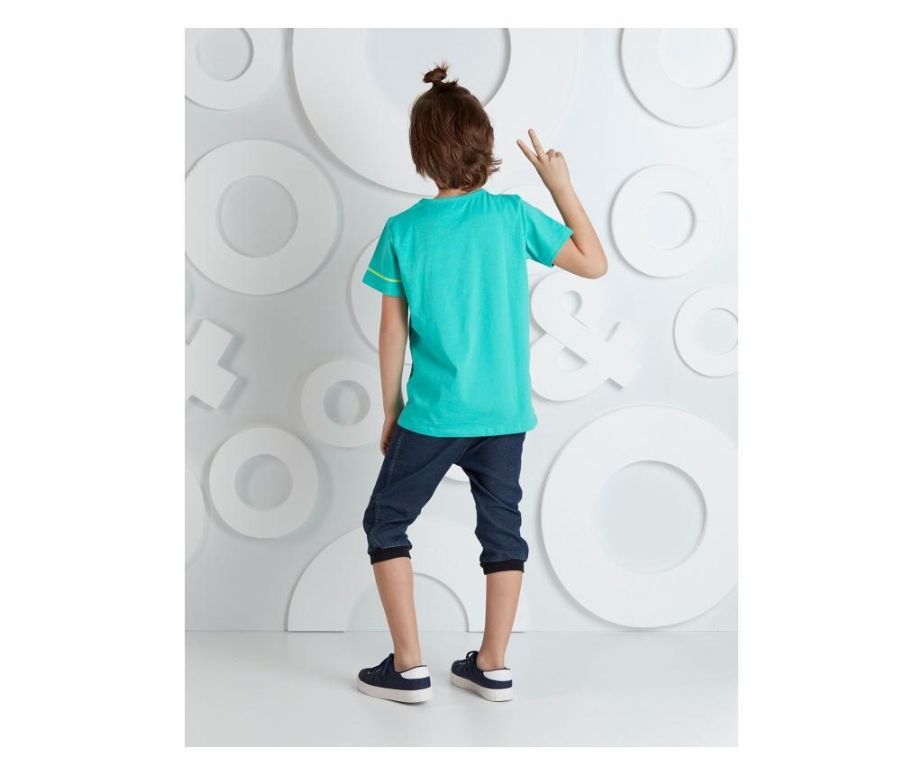 Set tricou si pantaloni pentru copii Forever Young 5 years