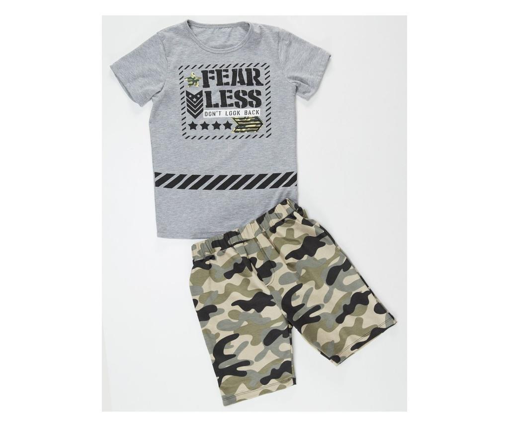 Set tricou si pantaloni pentru copii Fearless 3 years