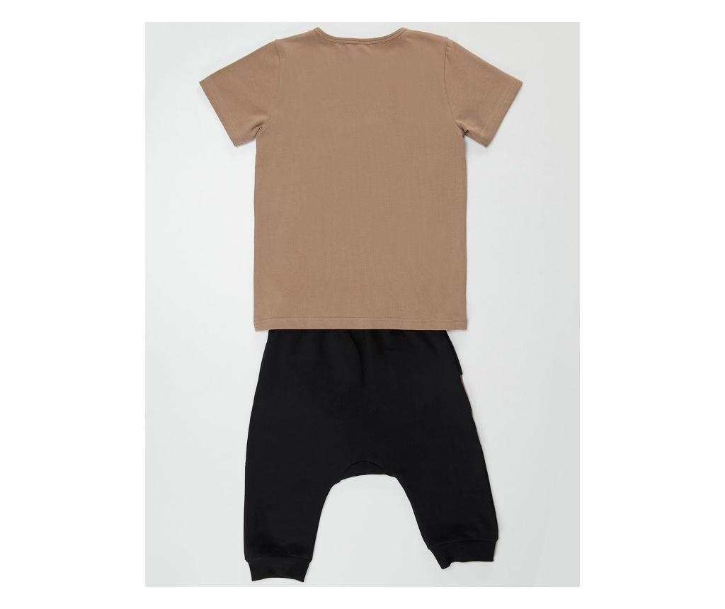 Set tricou si pantaloni copii Leopard 7 years