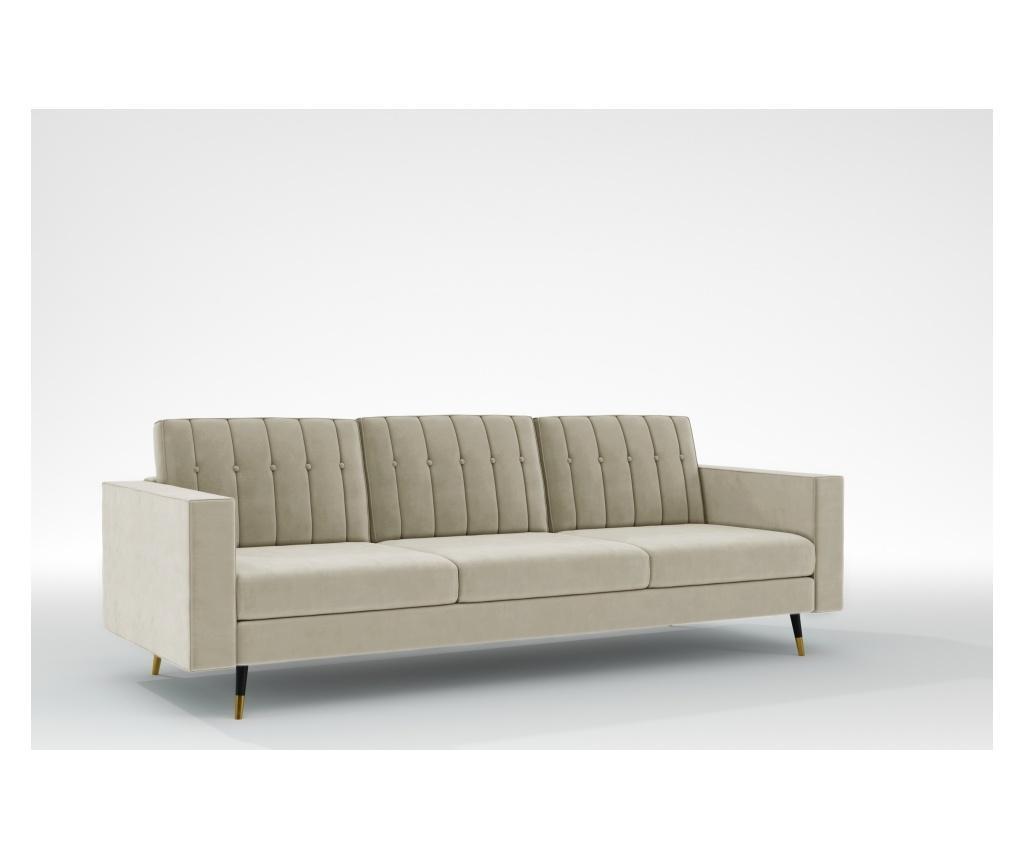 Elina Beige Háromszemélyes kanapé