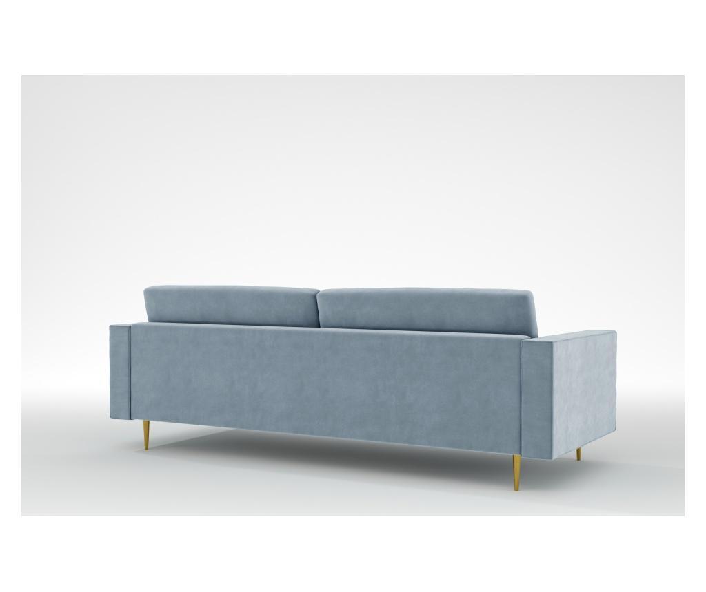 Grace Blue Grey Háromszemélyes kanapé