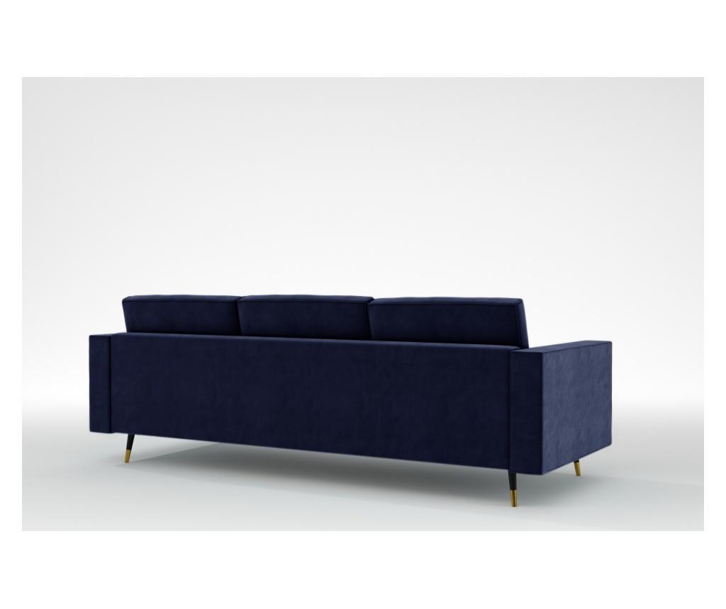 Elina Galaxy Blue Háromszemélyes kanapé