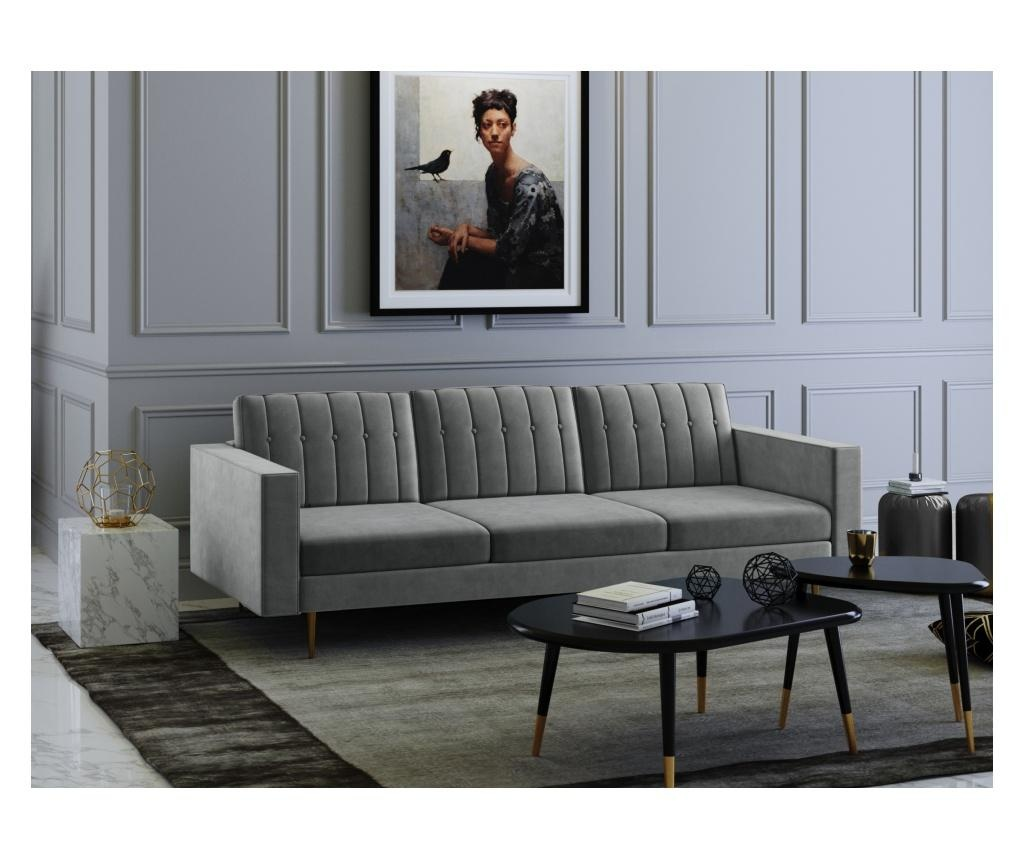 Laguna Grey Háromszemélyes kanapé