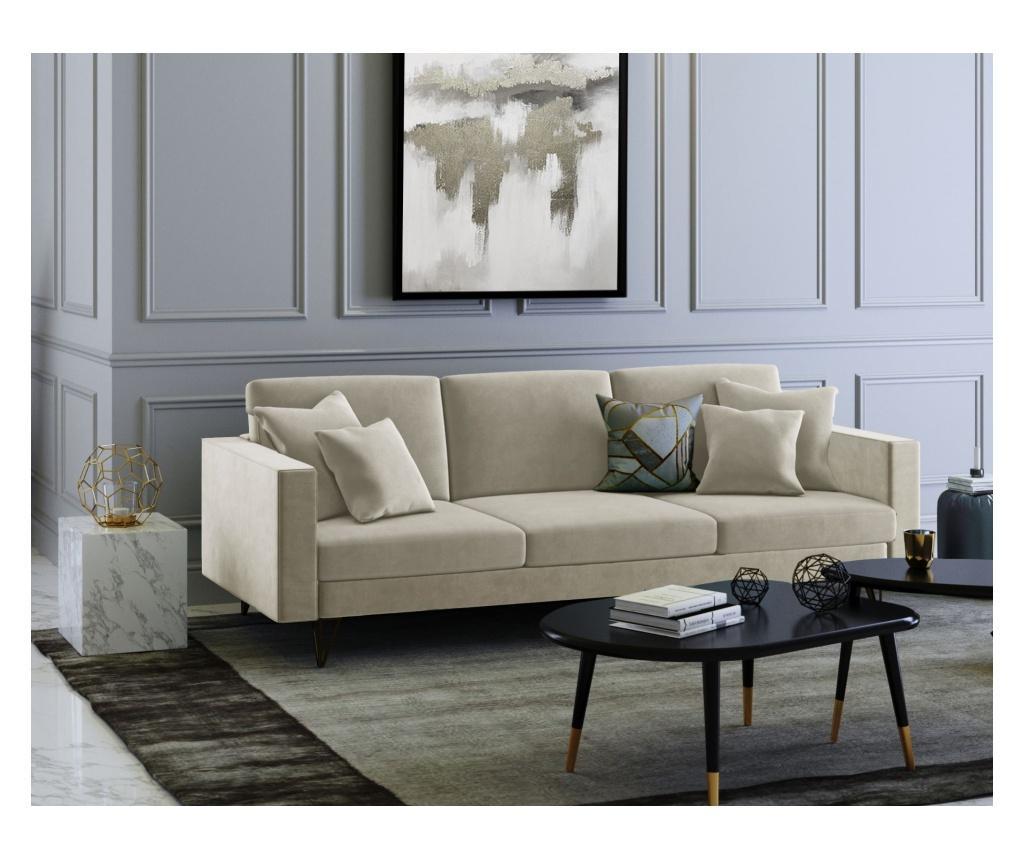 Virginia Beige Háromszemélyes kanapé
