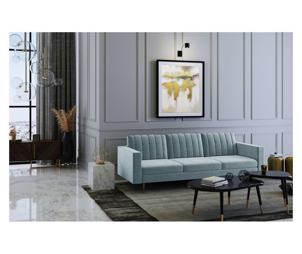 Laguna Blue Grey Háromszemélyes kanapé