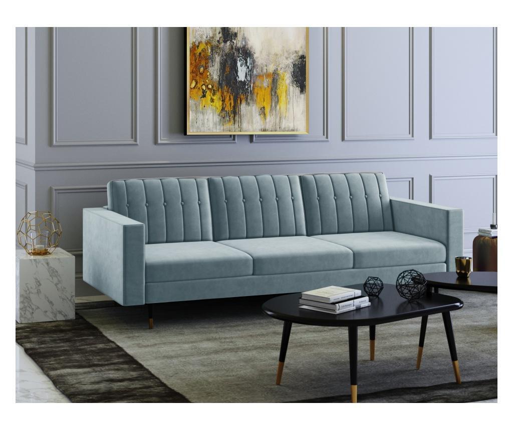 Elina Blue Grey Háromszemélyes kanapé