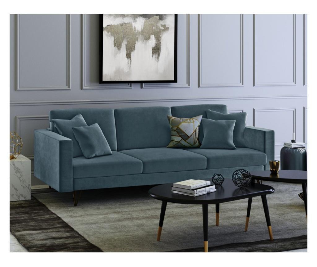 Virginia Petrol Háromszemélyes kanapé
