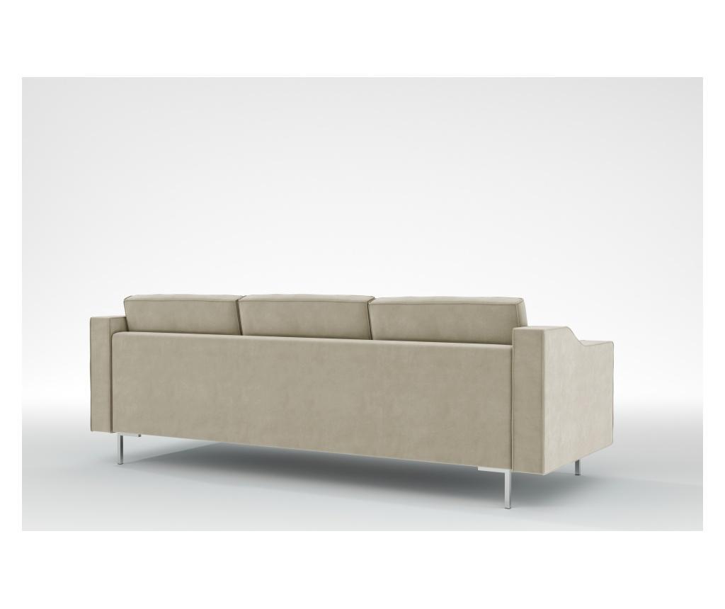 Julie Beige Háromszemélyes kanapé