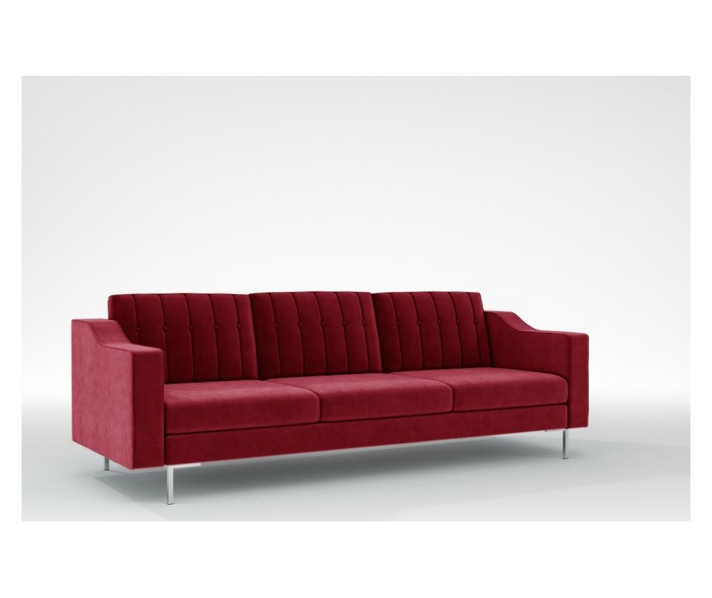 Julie Red Háromszemélyes kanapé