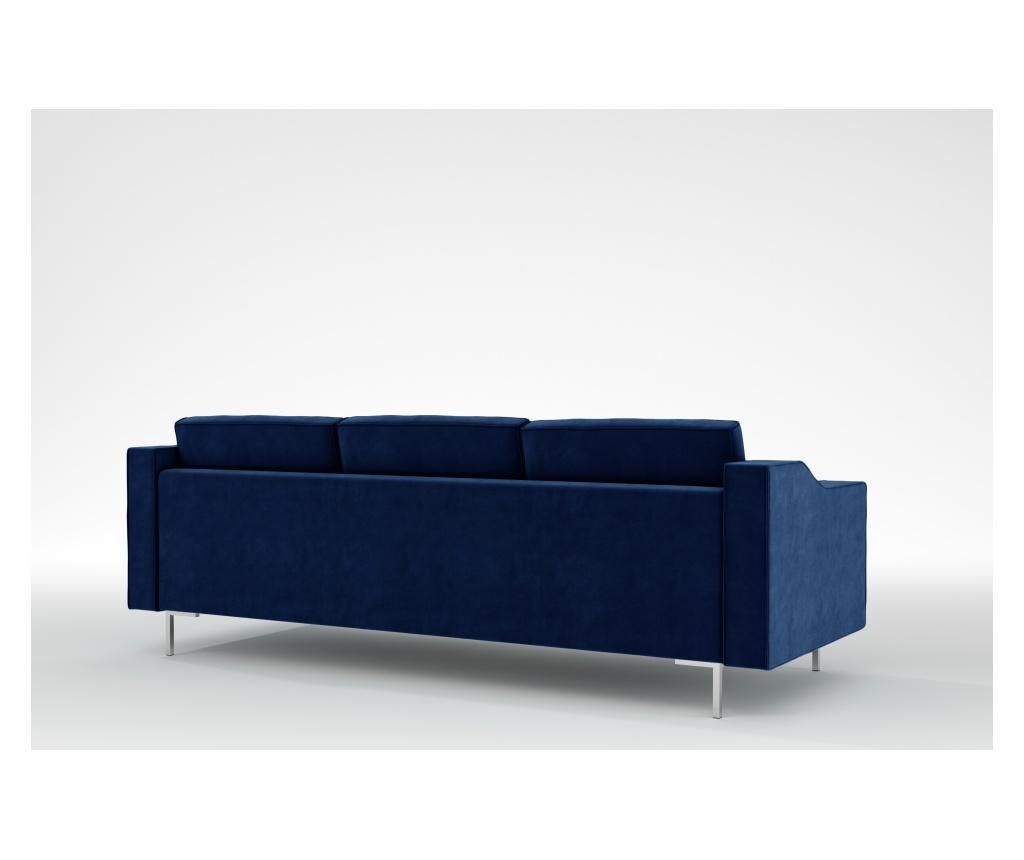 Julie Galaxy Blue Háromszemélyes kanapé