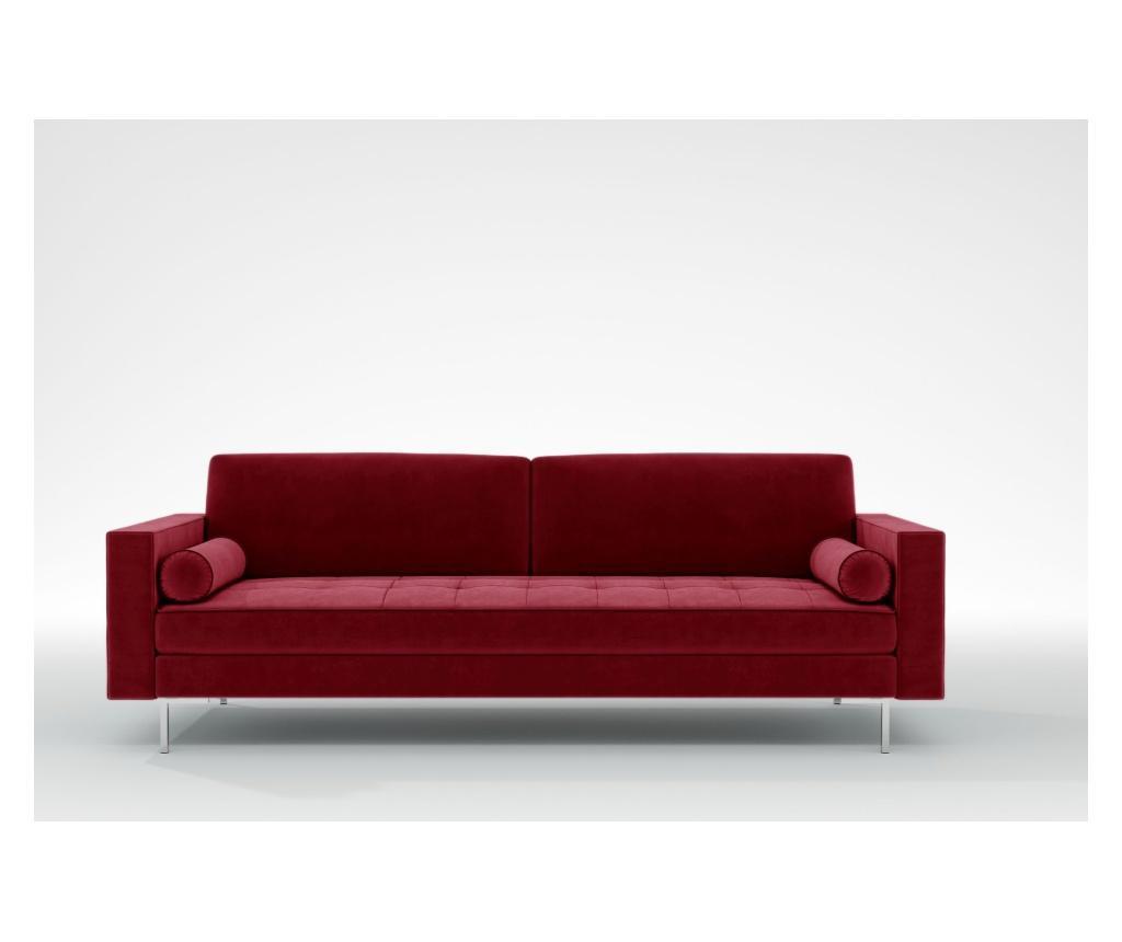 Maya Red Háromszemélyes kanapé