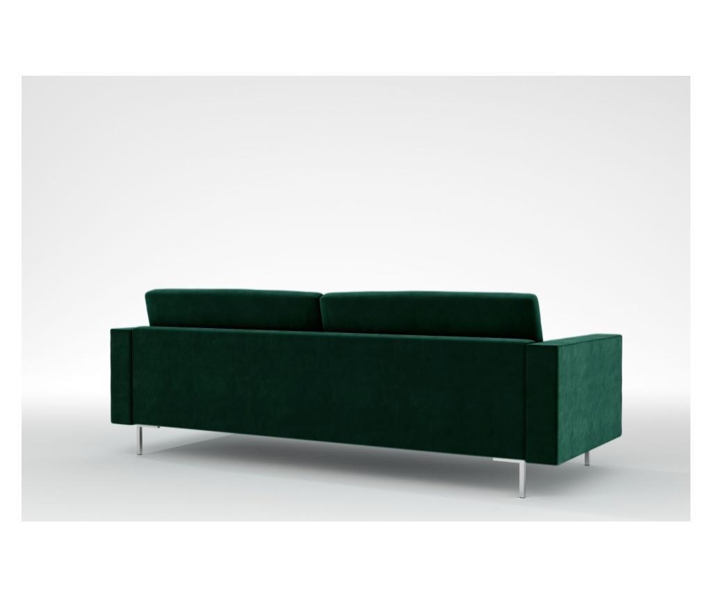 Maya Bottle Green Háromszemélyes kanapé