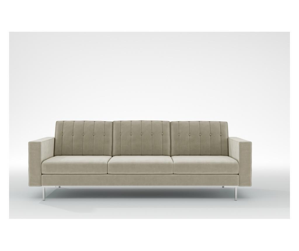 Linea Beige Háromszemélyes kanapé