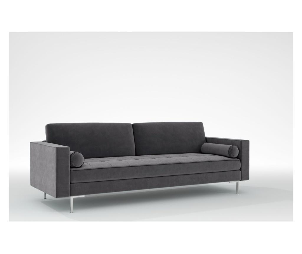 Maya Manhattan grey Háromszemélyes kanapé