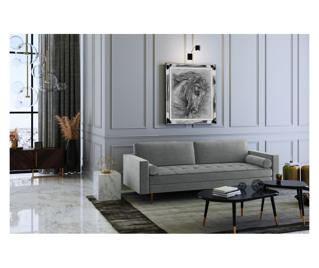 Grace Grey Háromszemélyes kanapé