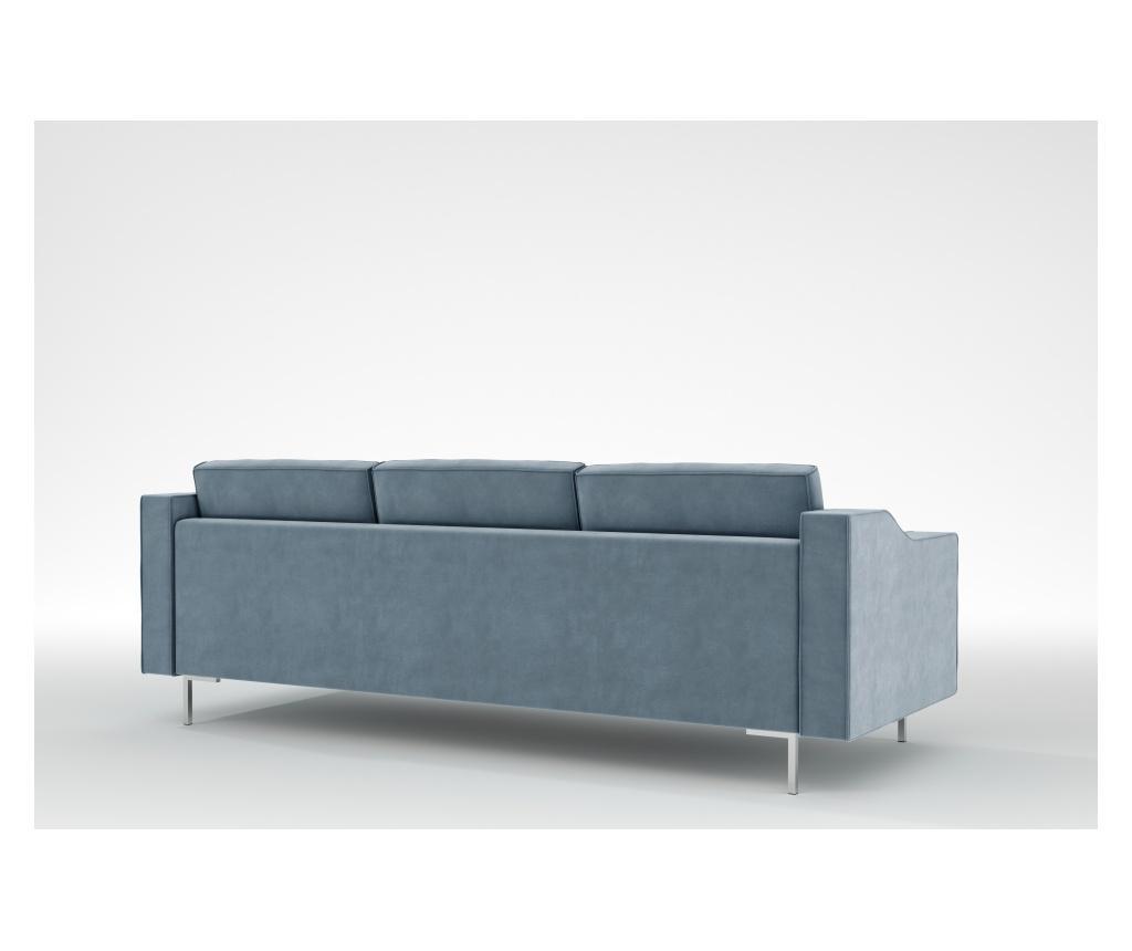 Julie Blue Grey Háromszemélyes kanapé