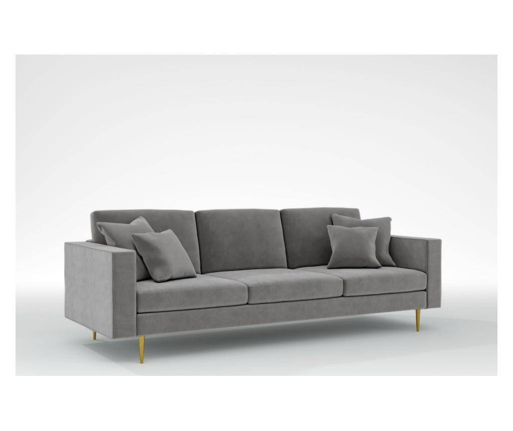 Virginia Grey Háromszemélyes kanapé