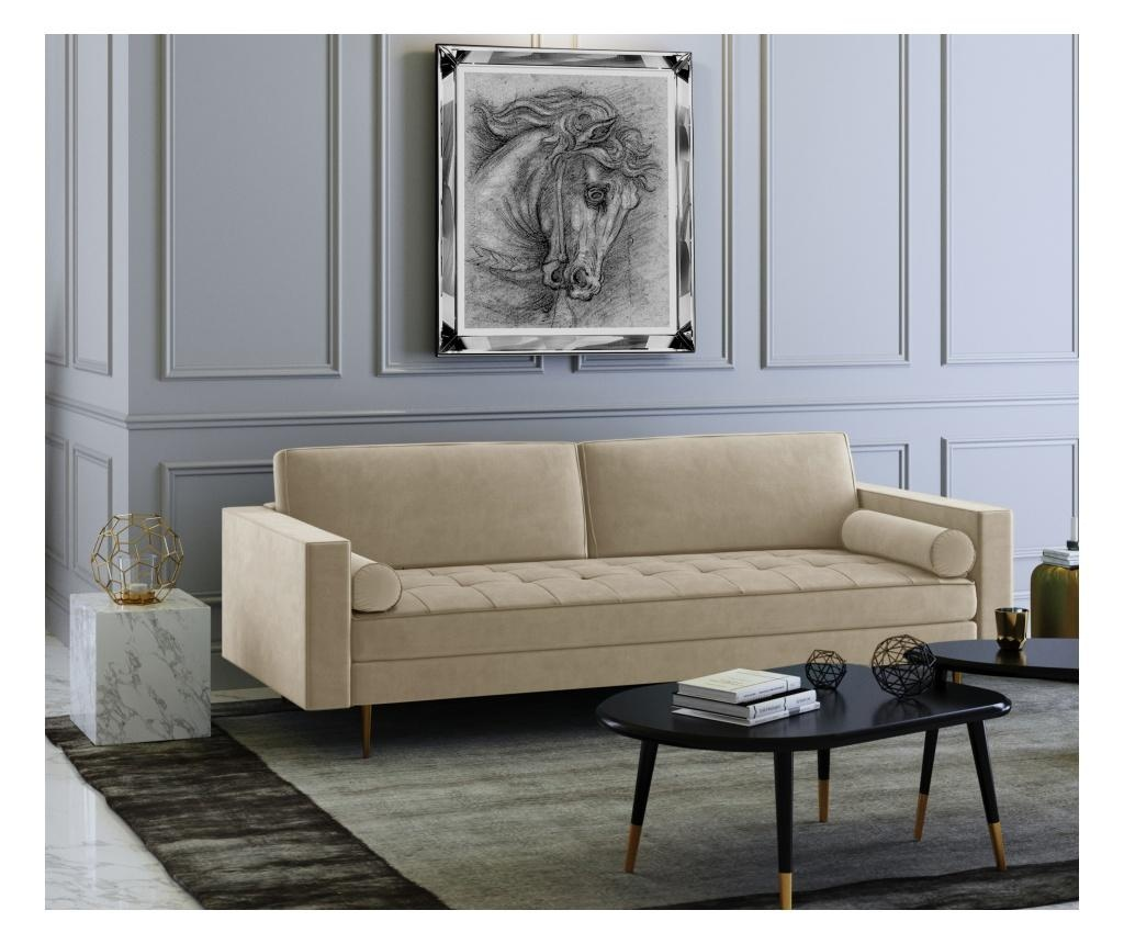 Grace Beige Háromszemélyes kanapé