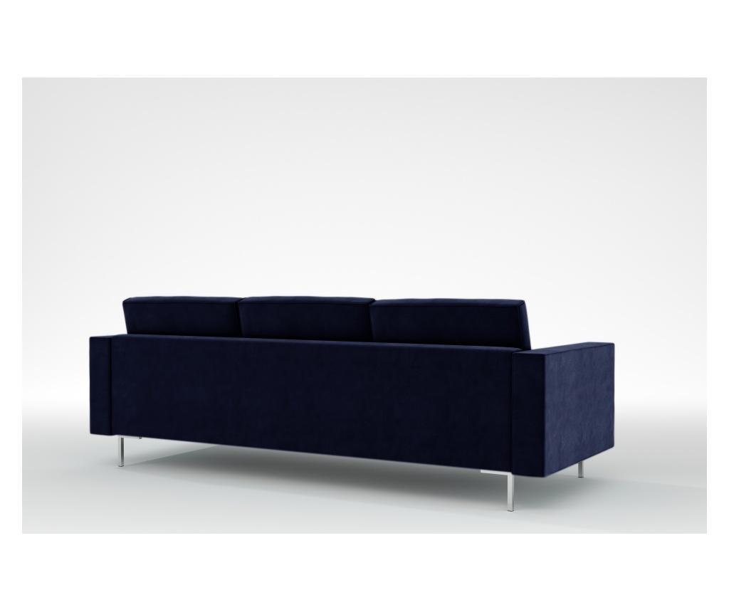 Linea Galaxy Blue Háromszemélyes kanapé