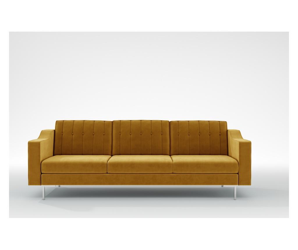 Julie Mustard Háromszemélyes kanapé