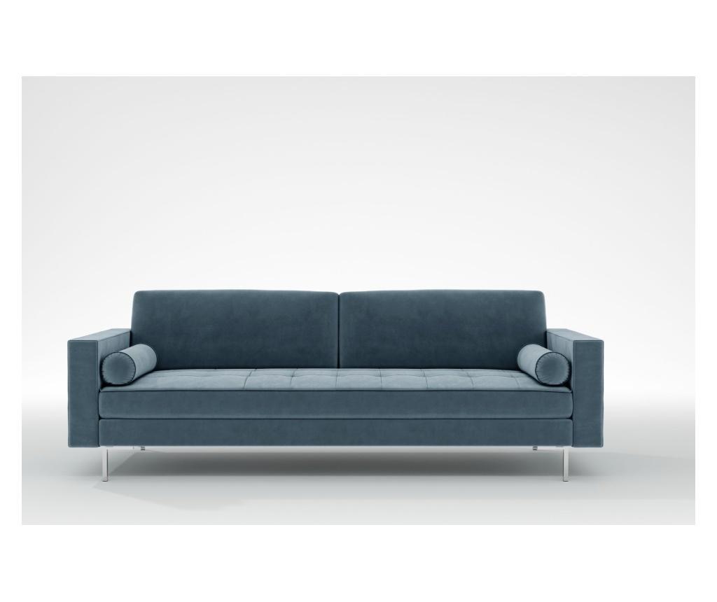 Maya Petrol Háromszemélyes kanapé