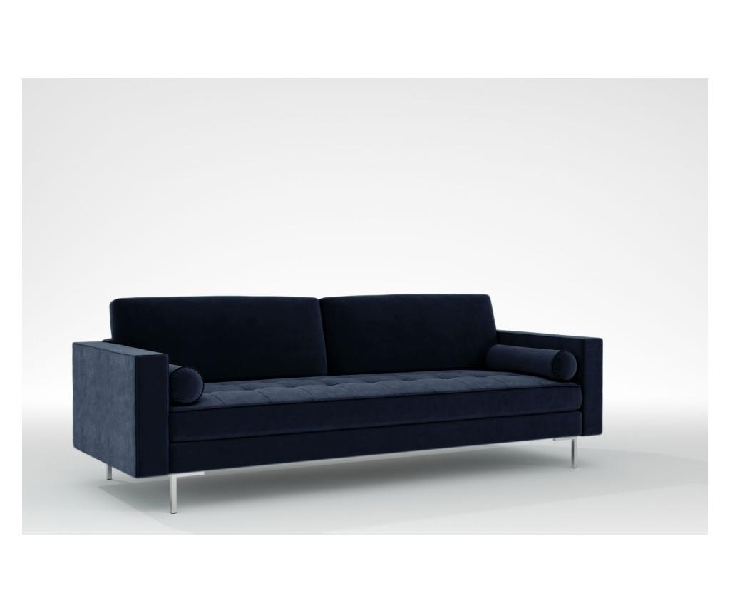 Maya Midnight Blue Háromszemélyes kanapé