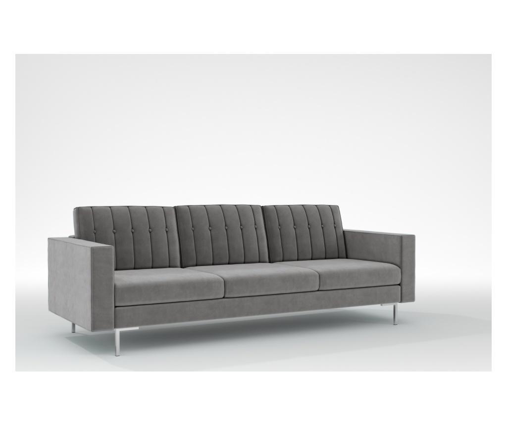 Linea Grey Háromszemélyes kanapé