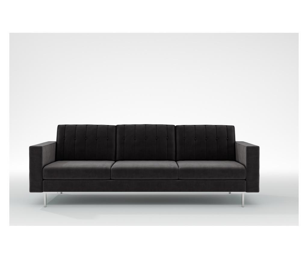 Linea Manhattan Grey Háromszemélyes kanapé