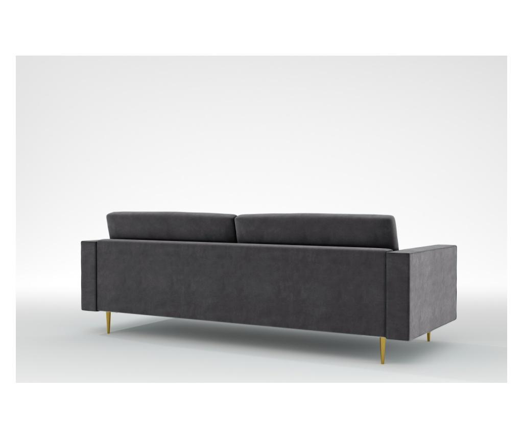 Grace Manhattan Grey Háromszemélyes kanapé