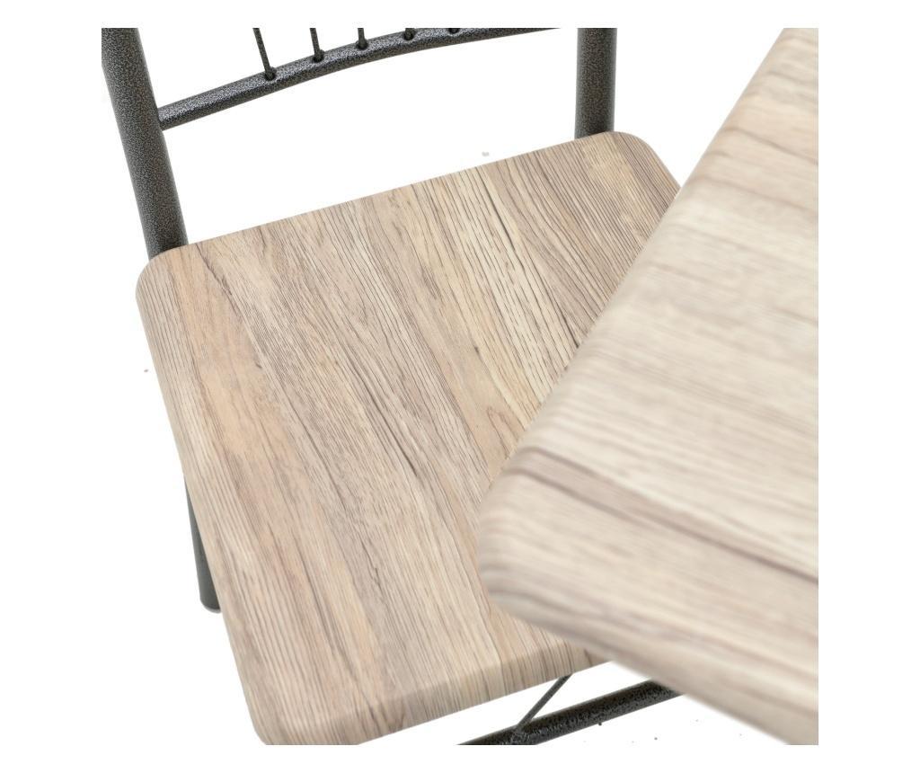 Set masa si 4 scaune