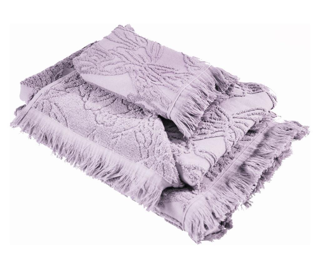 Ręcznik kąpielowy Blossom Orchid 33x50 cm