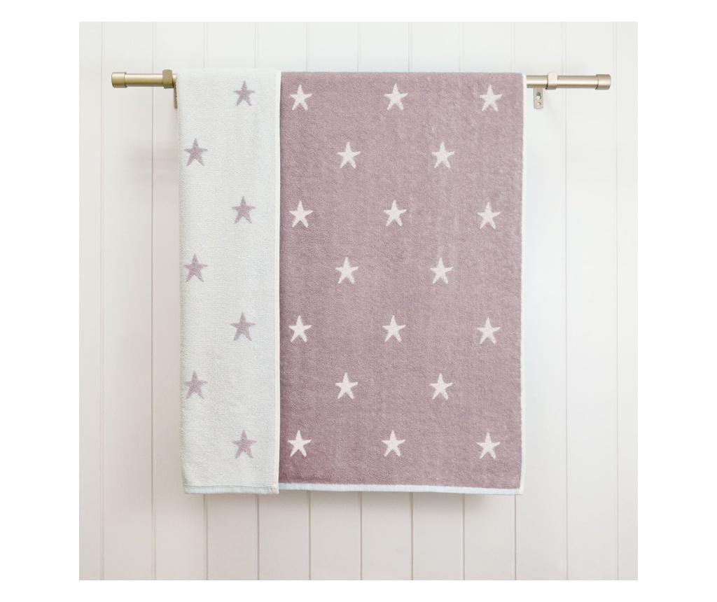 Prosop de baie Stars Purple 70x120 cm