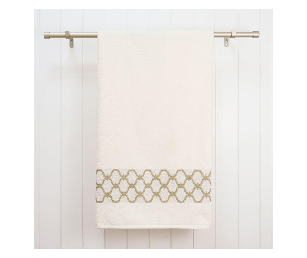 Zestaw 3 ręczników kąpielowych Tangier Cream & Sage