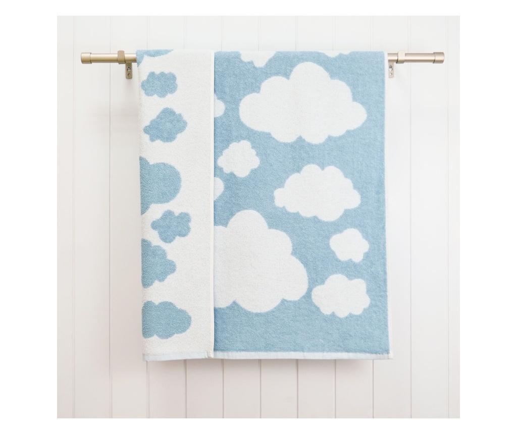 Prosop de baie Clouds Blue 70x120 cm