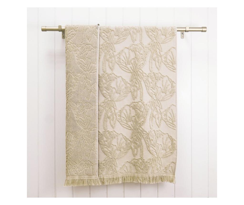Ręcznik kąpielowy Blossom Beige 33x50 cm