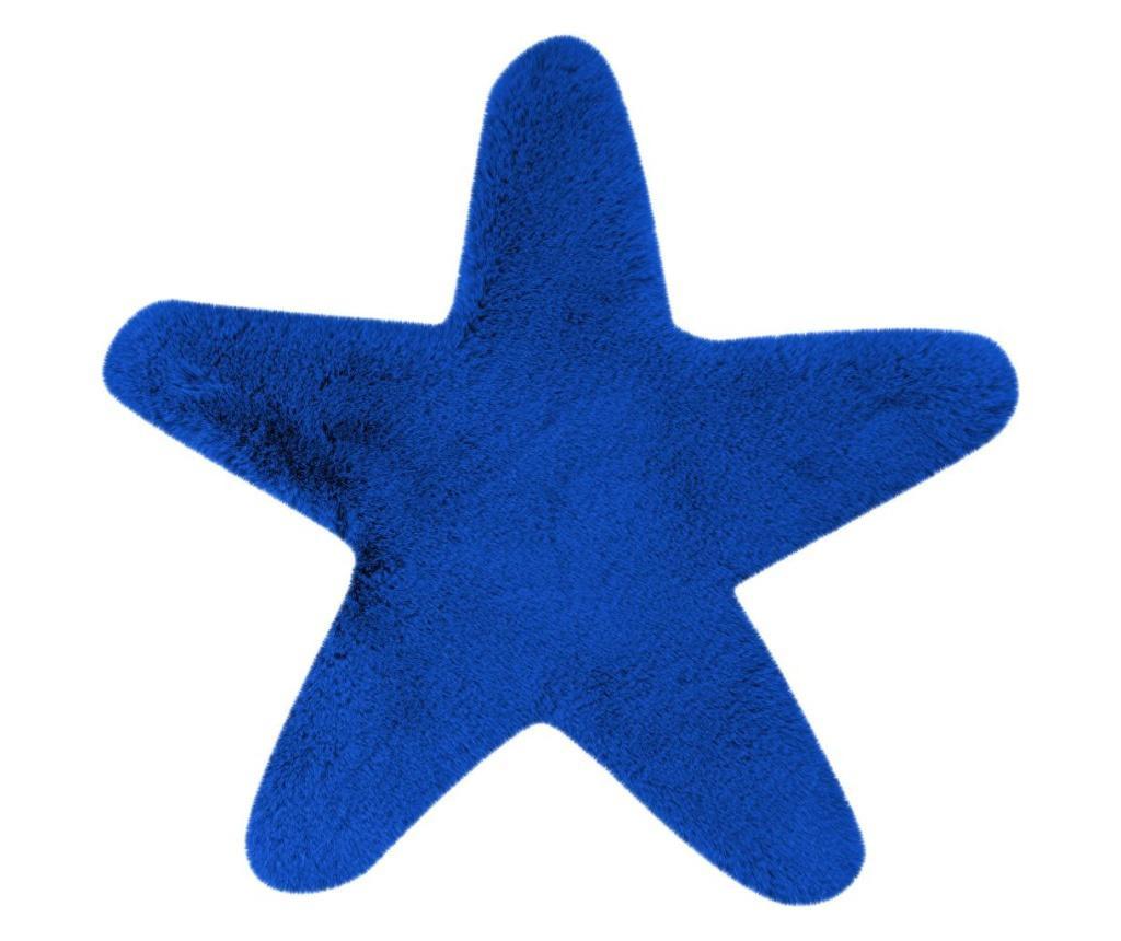 Tepih Fluffy Kids Star Blue 60x63 cm