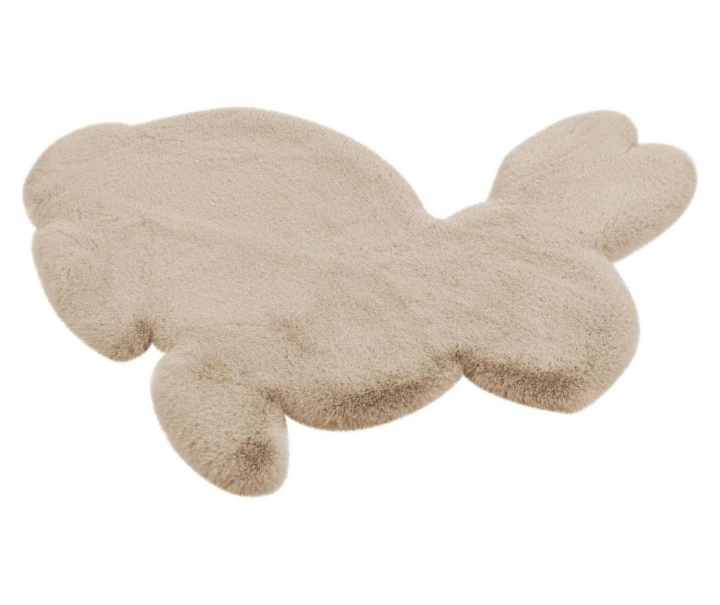 Fluffy Kids Rabbit Creme Szőnyeg 80x90 cm