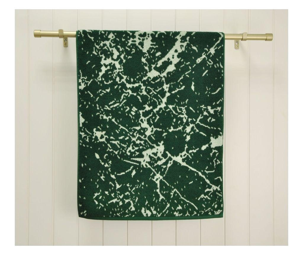Prosop de baie Marble Green 48x90 cm