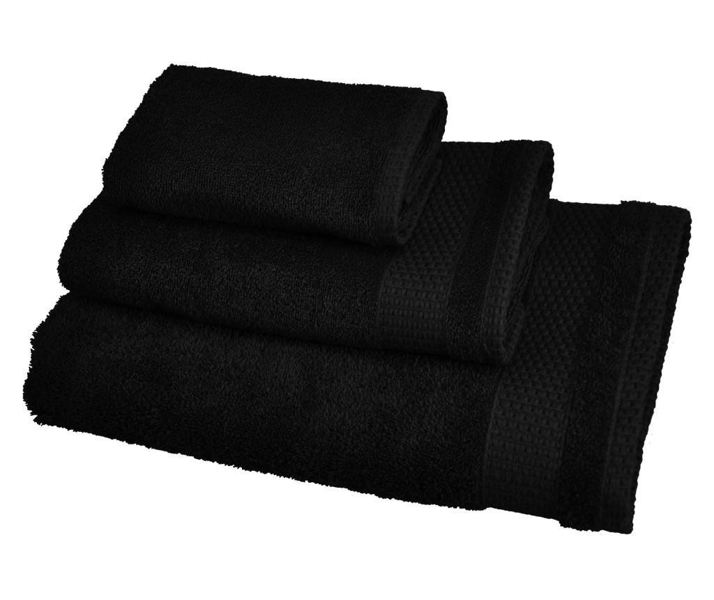 Ręcznik kąpielowy Madison Black 48x80 cm