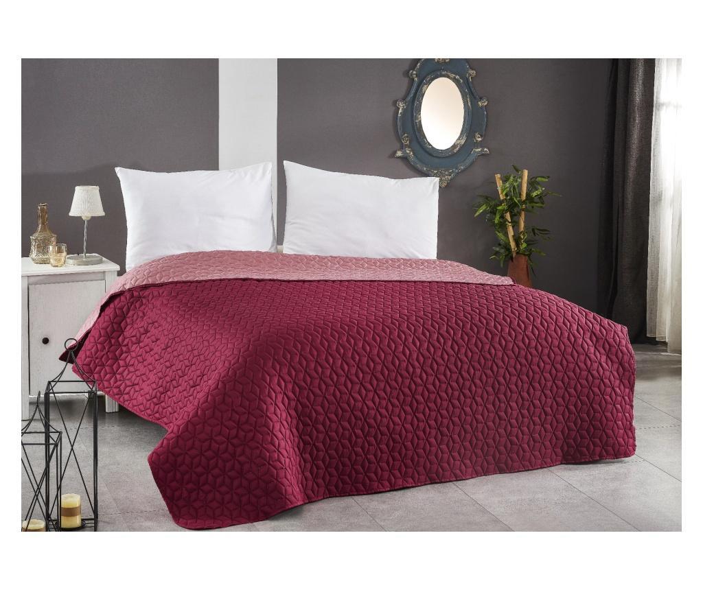 Cuvertura de pat Ultrasonic Pink 160x220 cm