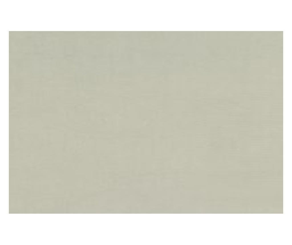Łóżko kontynentalne ze schowkiem Soho Cream Silver 180x200 cm
