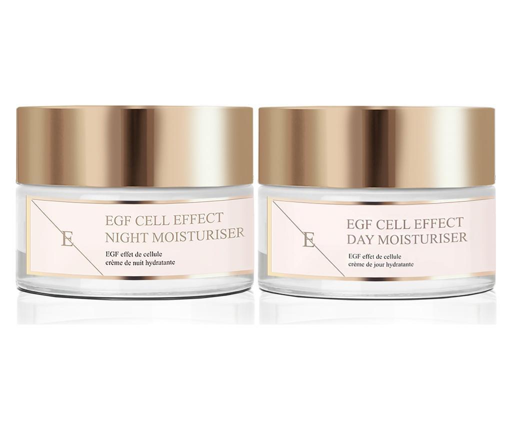 Set 2 produse pentru ingrijire faciala EGF Cell Effect 50 ml